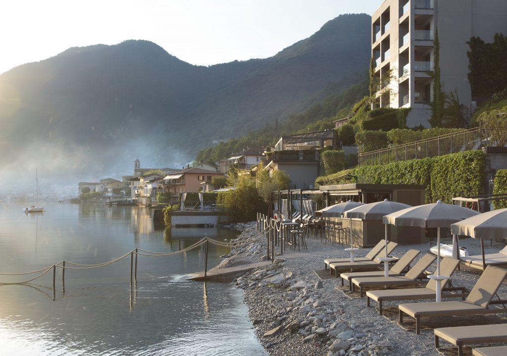 Hotel Filario Lezzeno lago di Como spiaggia privata
