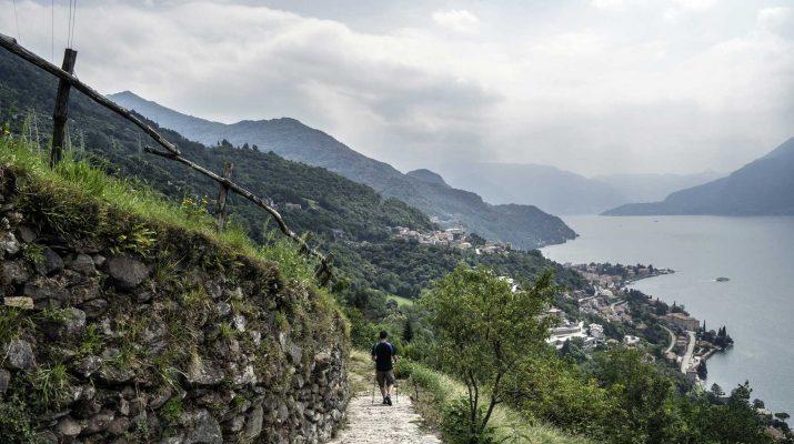 Foto Sentiero del viandante: trekking sul lago di Como