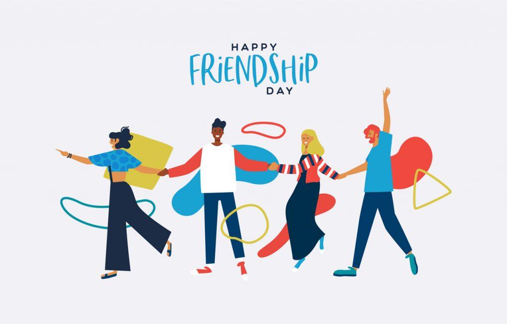 Buona giornata internazionale dell'amicizia