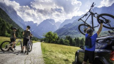 come trasportare la bicicletta in auto
