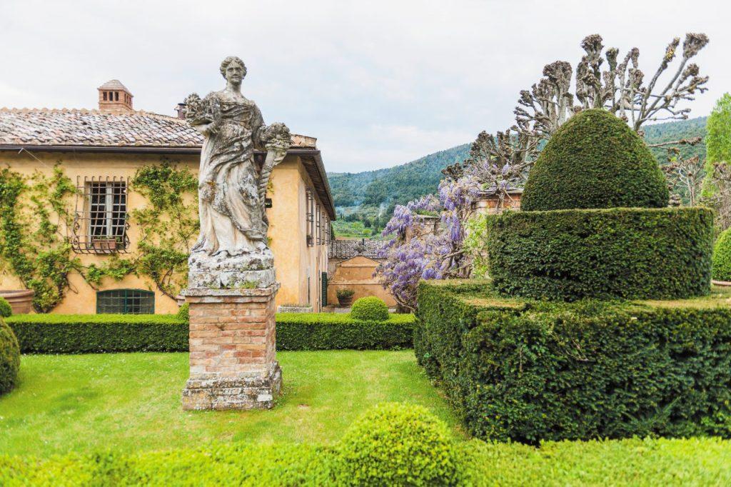 Villa Cetinale, in val di merse