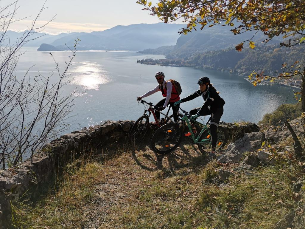 weekend bici lago como mtb griante_ph. credit Bikeit! noleggio bici Bellagio