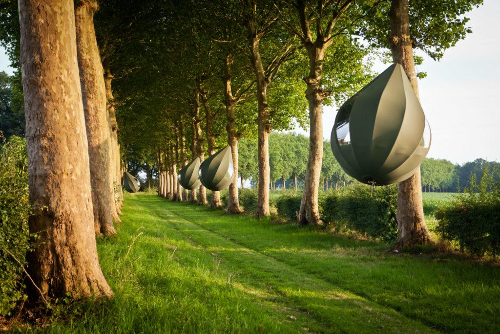 tende a foma di gocce in Belgio