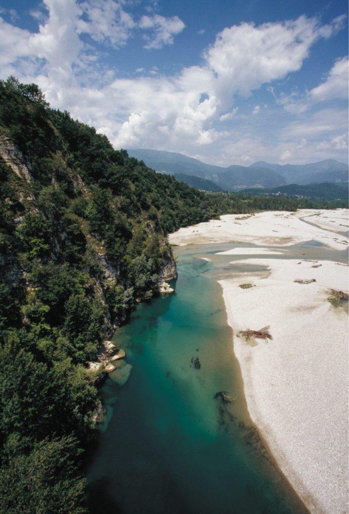 Il paesaggio dei Magredi, a nordest di Pordenone.