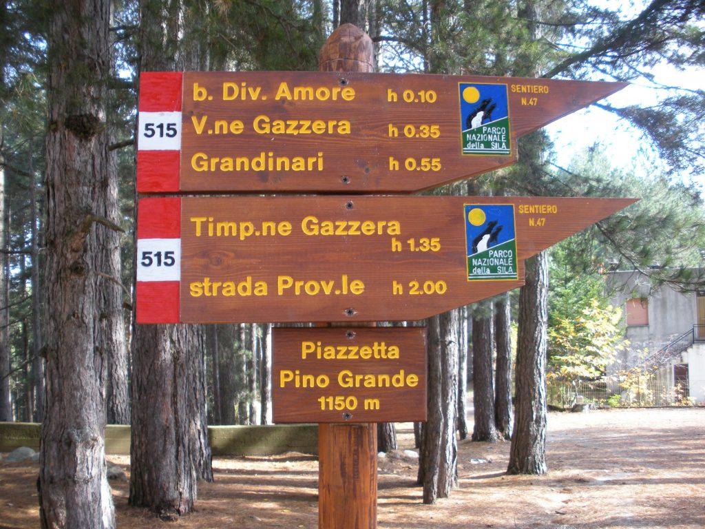 Passeggiate all'interno del Parco nazionale della Sila (foto Parco Sila).