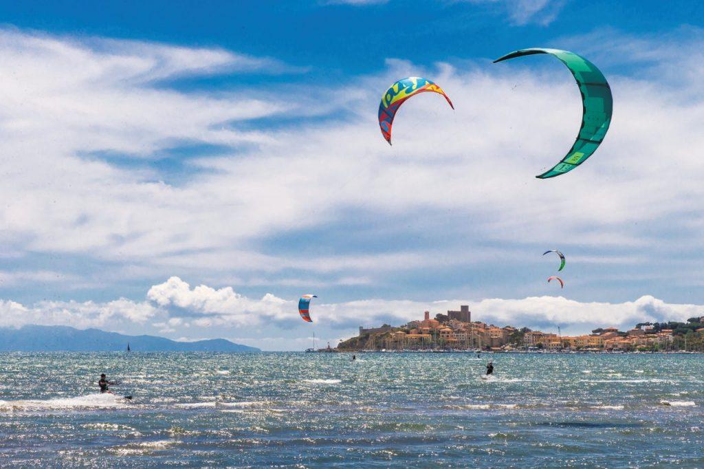 Kitesurf a Talamone