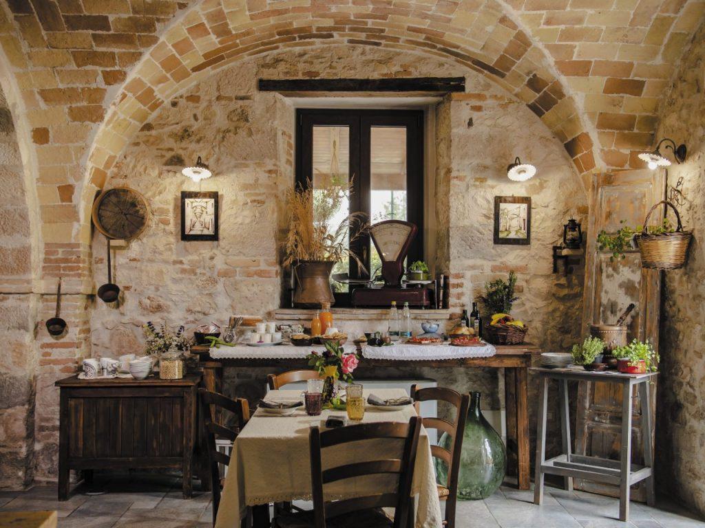 Giulia Scappaticcio organizza lezioni di cucina nel suo Casale Centurione.