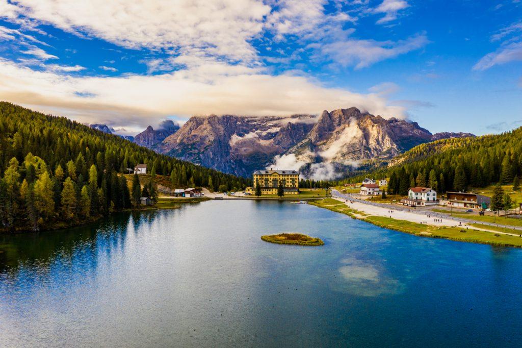 Lago di Misurina, Auronzo, Dolomiti, Veneto