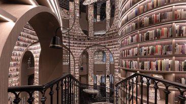 libreria di specchi in cina