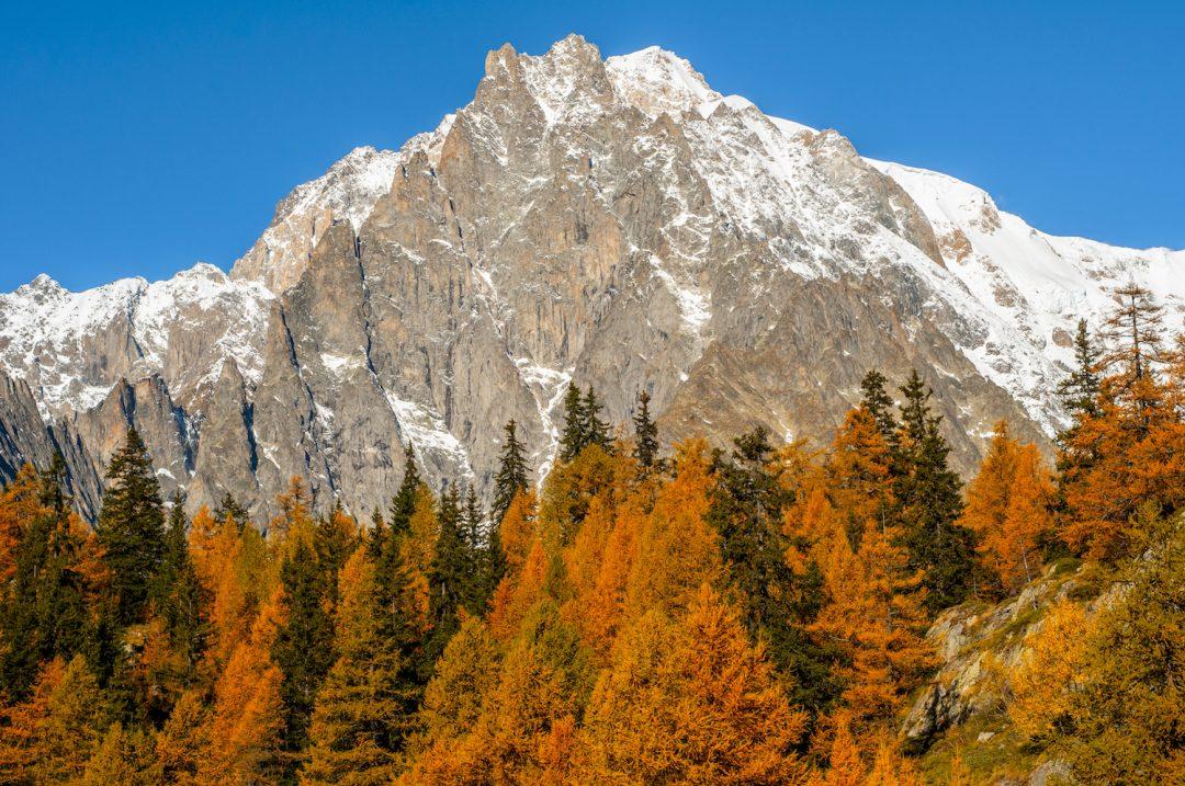 Valle d'Aosta in autunno: lo spettacolare foliage di Courmayeur e dintorni
