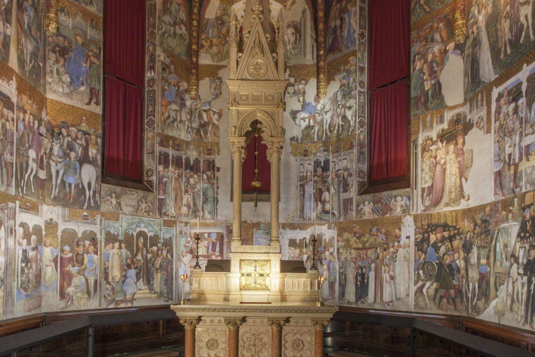 Duomo di Monza: la Cappella di Teodolinda