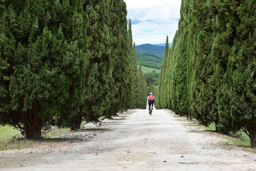 Grand Tour Val di Merse in Toscana primo percorso in Italia con segnaletica permanente per la sicurezza dei ciclisti