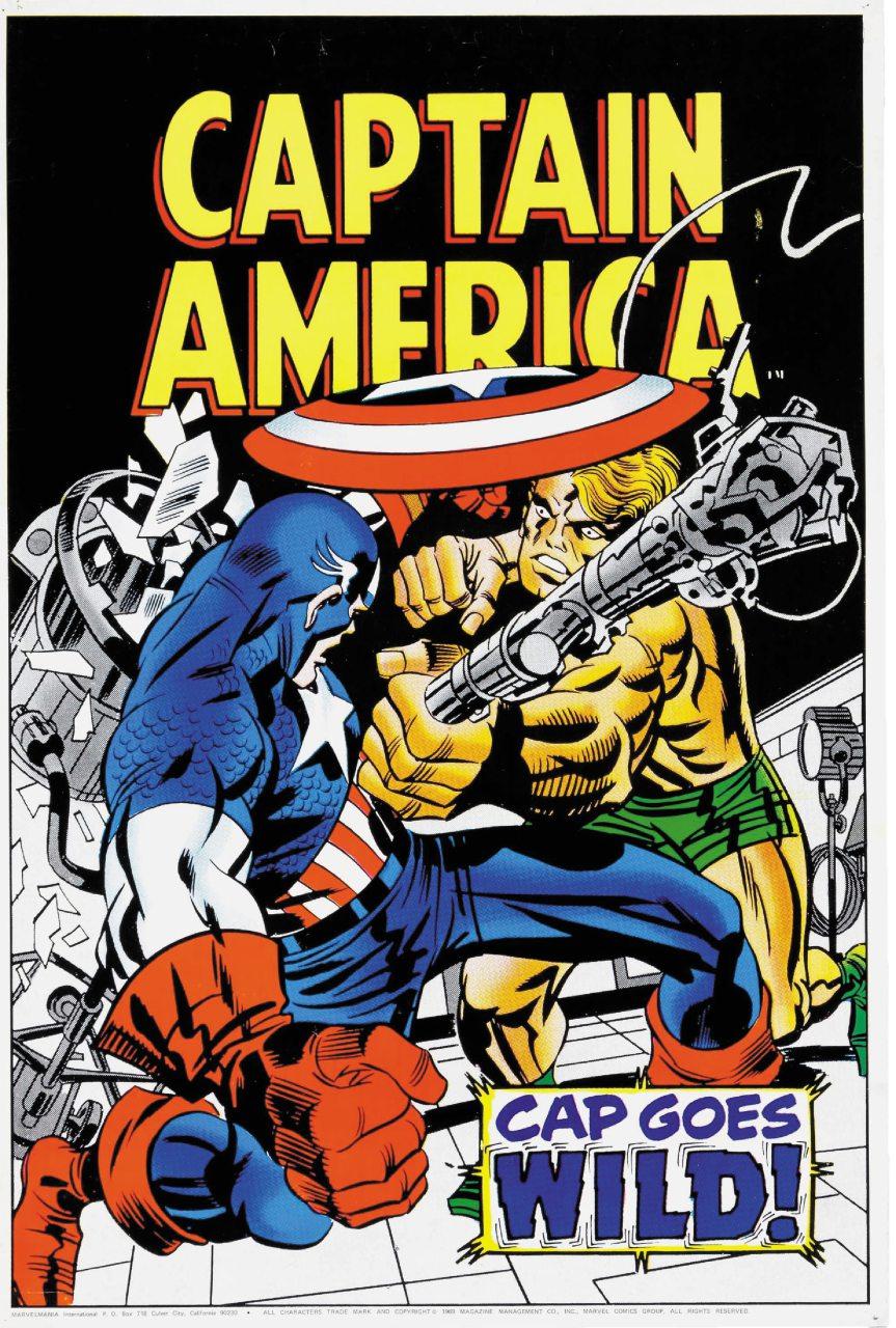 Un albo di Capitan America in mostra a Amazing! A MIlano dal 12 settembre 2020