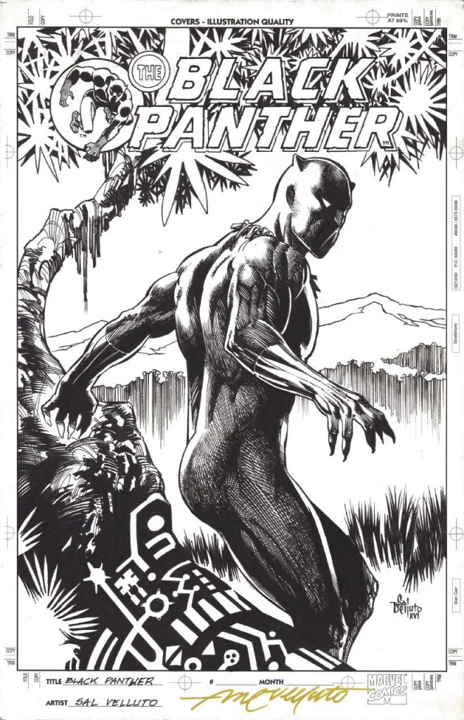 Black Panther - Pantera Nera in mostra a AMAZING!