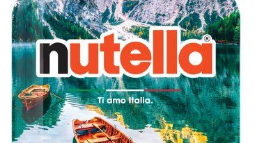 vasetto Nutella paesaggio