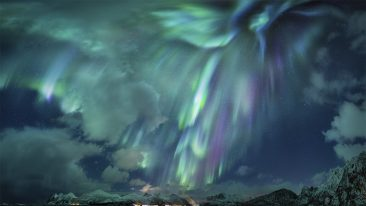 foto aurora boreale Insight Investment Astronomy Photographer of the Year