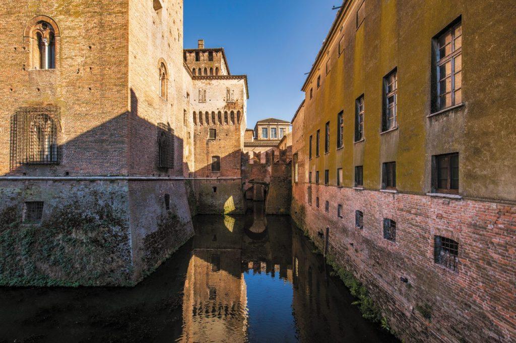 Mantova castello medievale San Giorgio