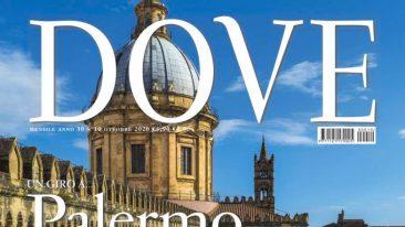 Palermo, uno scorcio della cattedrale sulla copertina del numero di ottobre. Foto: Giovanni Tagini/Dove