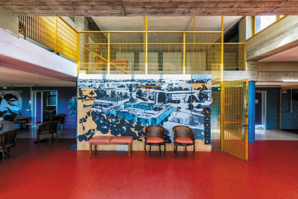 Il Creative Lab, centru culturale nel quartiere Lunetta, a Mantova (ph. Giovanni Tagini)