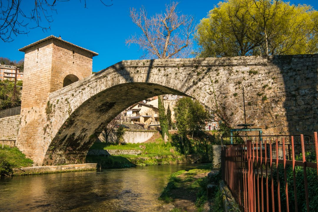 Il Ponte di San Francesco sull'Aniene