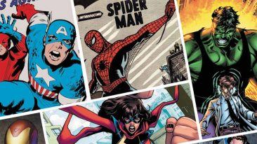 Il manifesto ufficiale di Amazing! 80 anni (e più9 di Suereroi Marvel