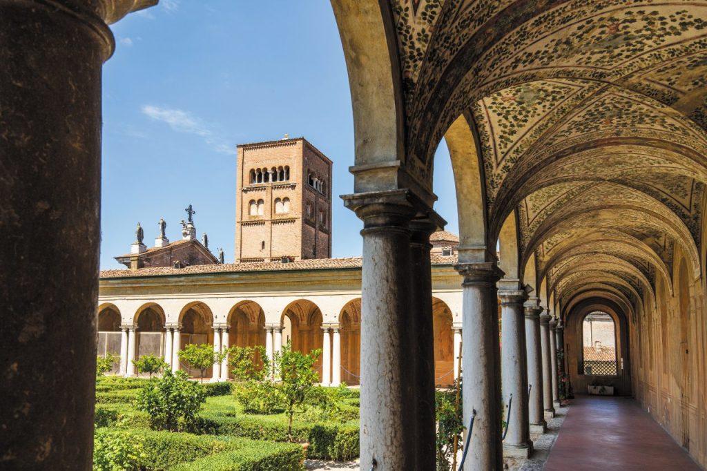 Uno scorcio di Palazzo Ducale, a Mantova (ph. Giovanni Tagini)