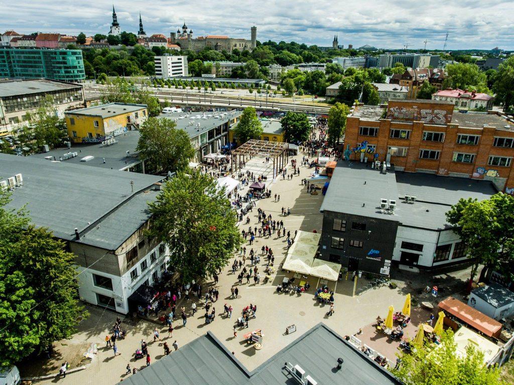 location del film tenet a Tallinn