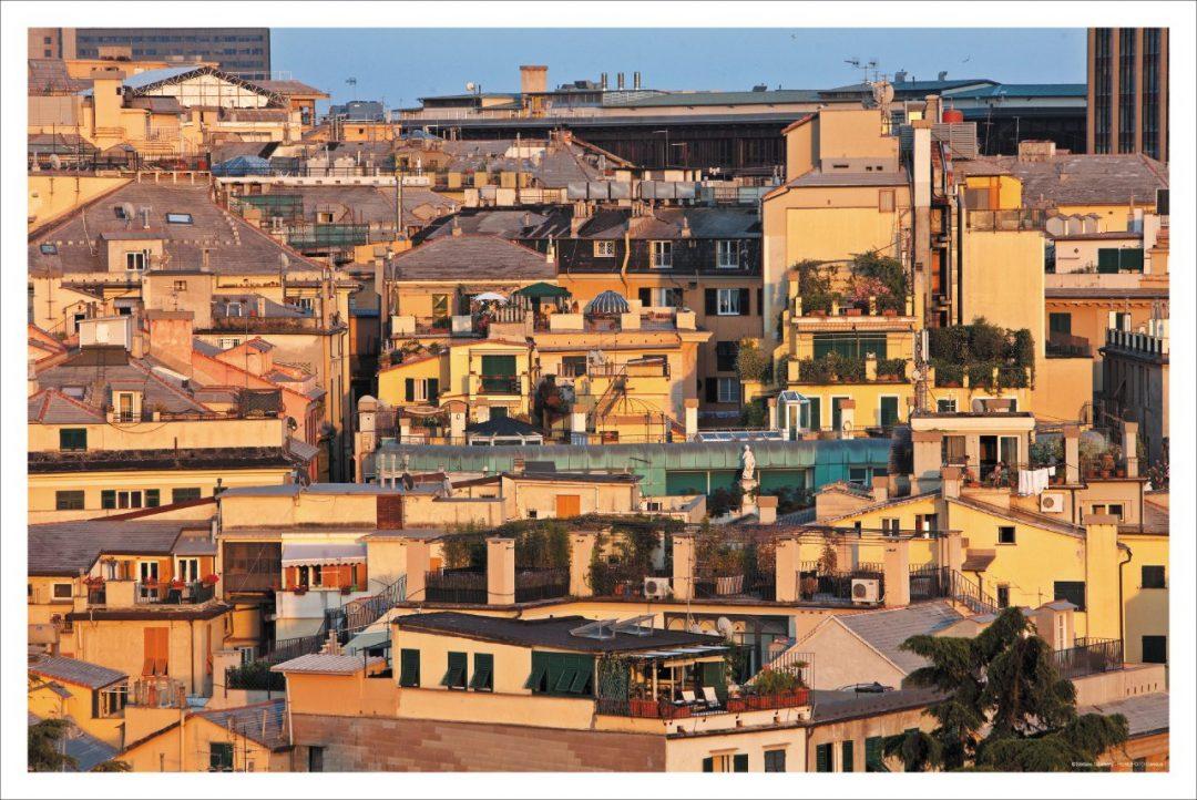 Genova dall'alto: funicolari, acsensori e cremagliere