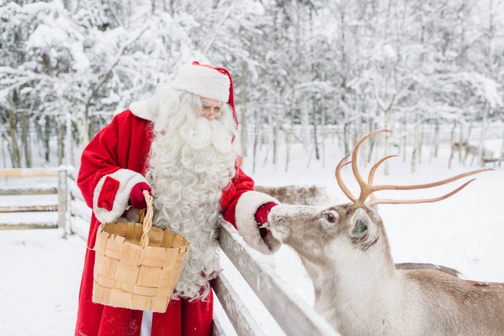 Say it with Santa iniziativa di Visit Finland per Natale Babbo Natale © Juho Kuva