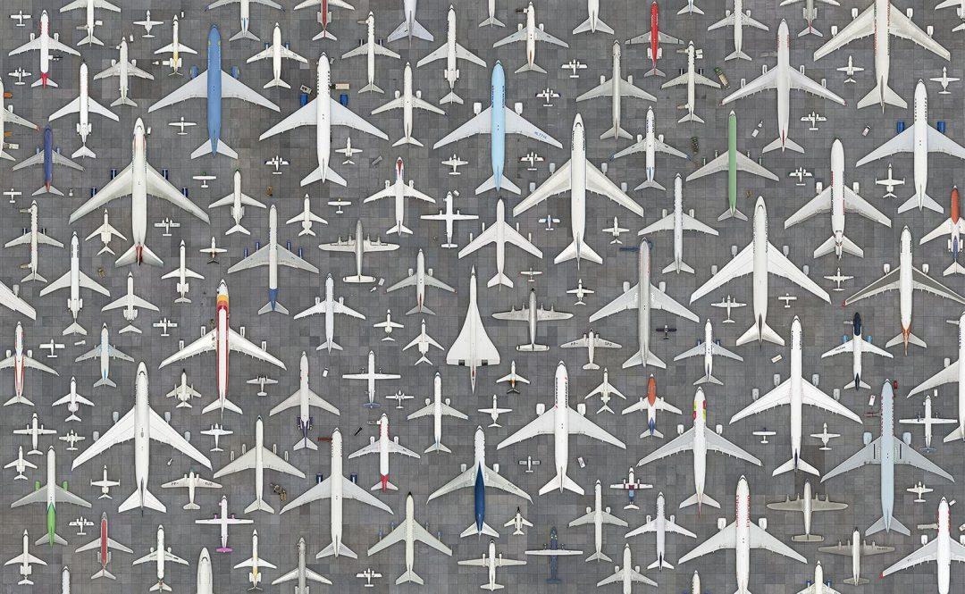 Fotografo in aria, aerei a terra