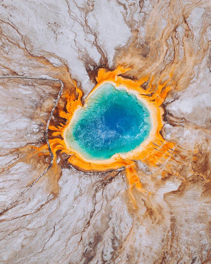 La Grand Prismatic Spring, Usa