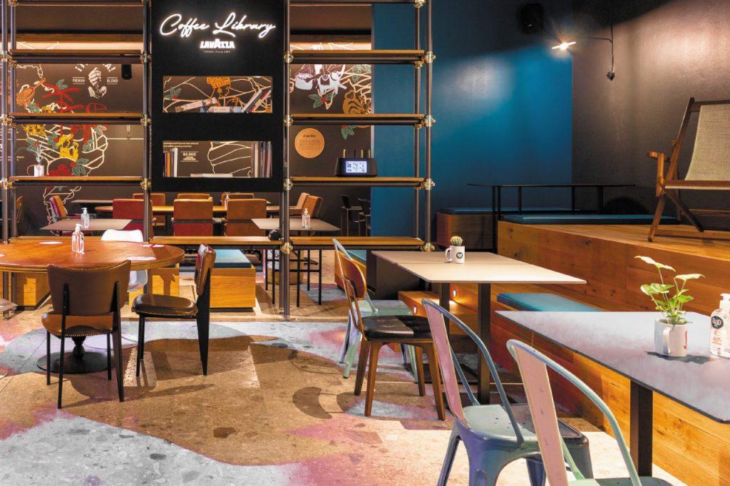 Vista interna di GudBocconi, nuova apertura di novembre a Milano