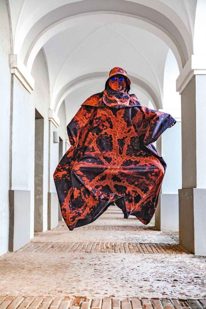 Un'opera del parigino Mosa all'Avantgarden Gallery.