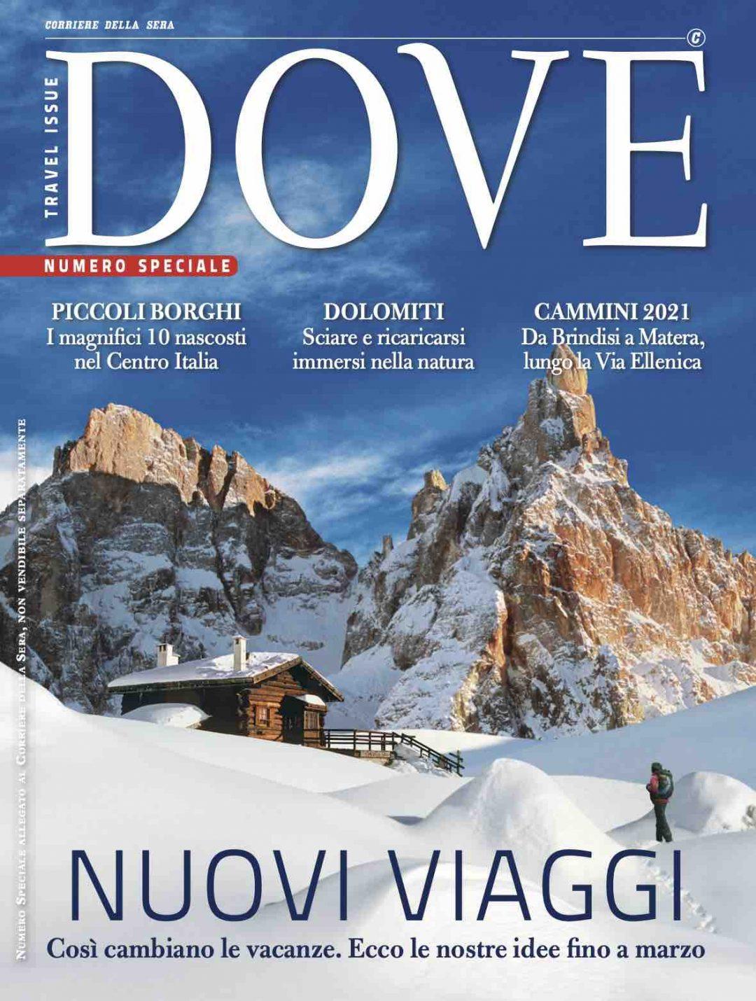 Dove travel Issue Numero Speciale Nuovi Viaggi Il Futuro dei Viaggi 2020 2021