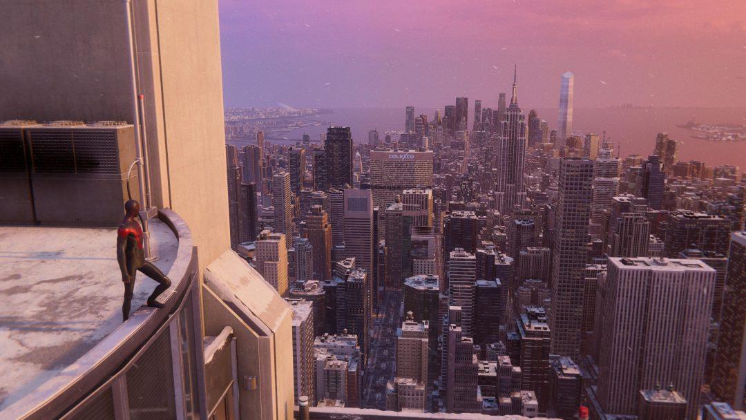 Marvel's Spider-Man. Location: New York