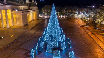 Alberi di Natale 2020: i più belli d'Europa
