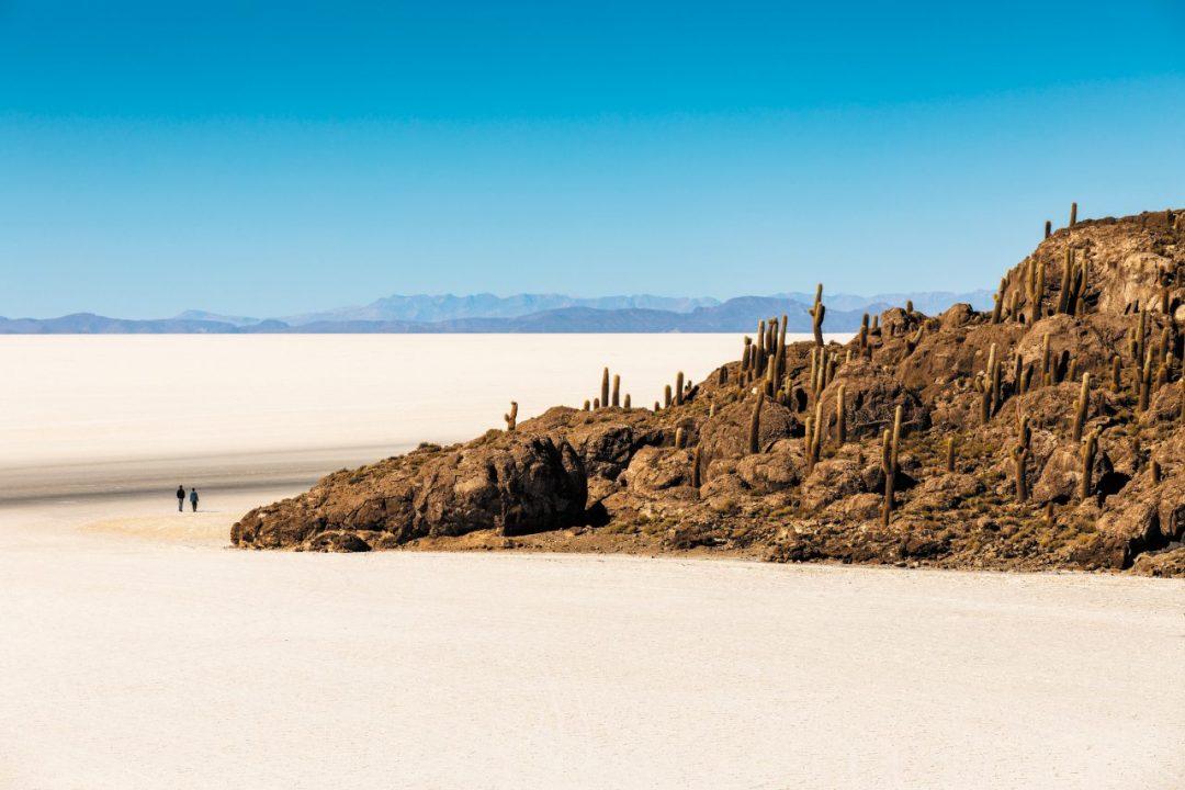 Bolivia, nel Salar de Uyuni sembra di stare su un altro pianeta
