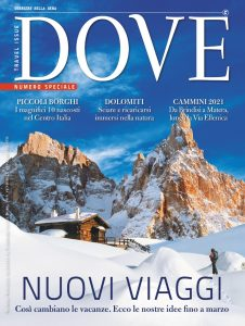 Cover DOVE Travel Issue numero Speciale 2020-2021