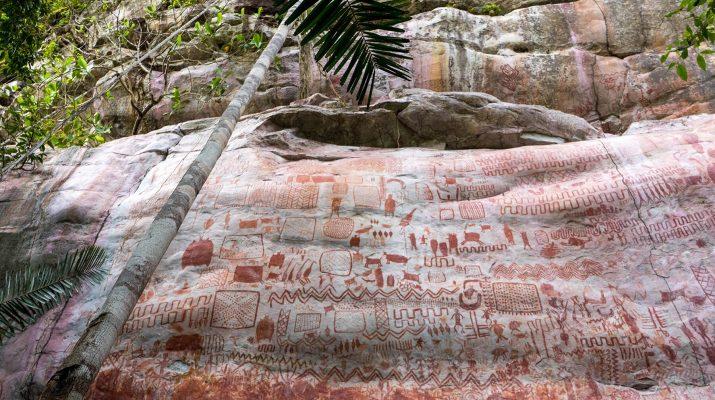"""Foto Colombia, scoperta la """"Cappella Sistina delle pitture rupestri"""": ecco le straordinarie immagini"""