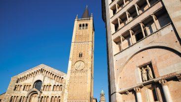 Parma piazza Duomo