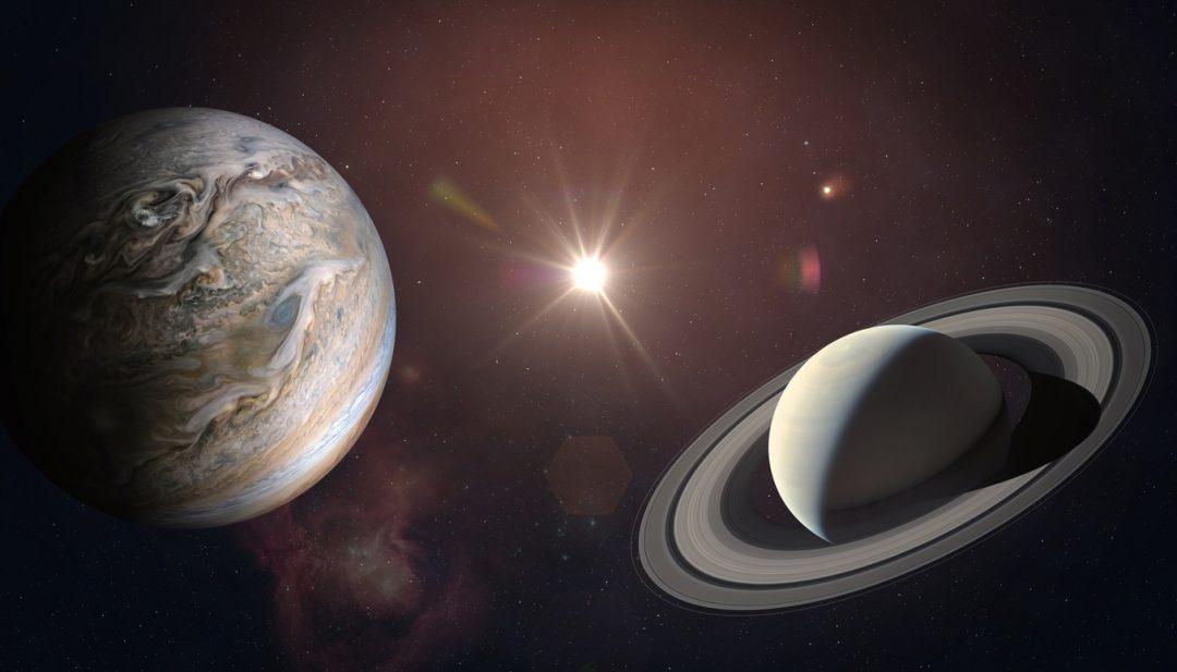 Grande congiunzione di Giove e Saturno: il 21 dicembre 2020, l'allineamento dei due pianeti, in occasione del solstizio d'inverno
