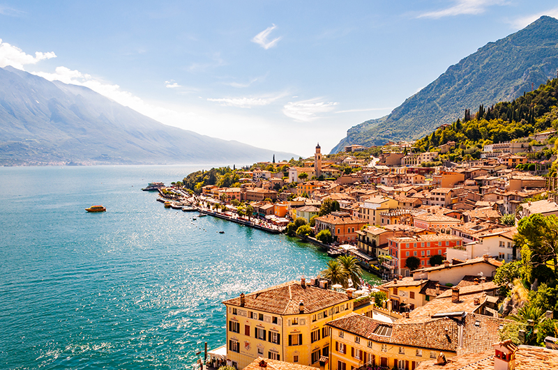 I laghi più grandi d'Italia, d'Europa e del mondo