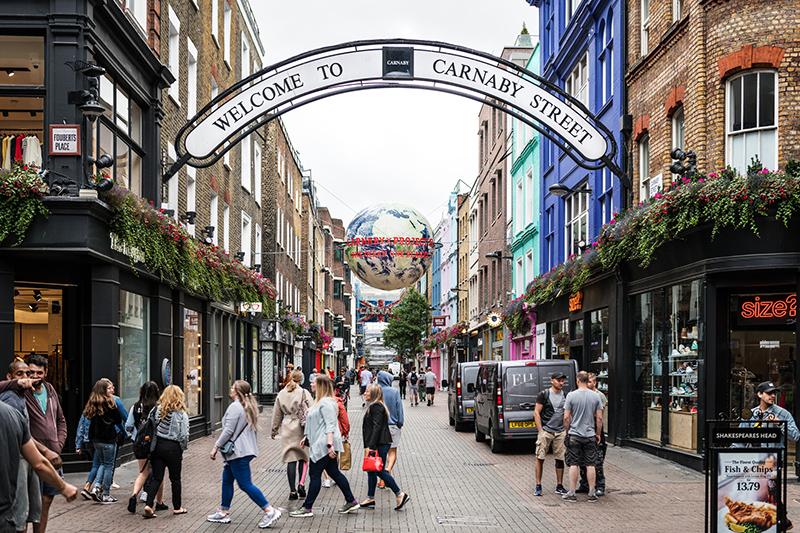 Gentrificazione, gli esempi in Europa: Londra