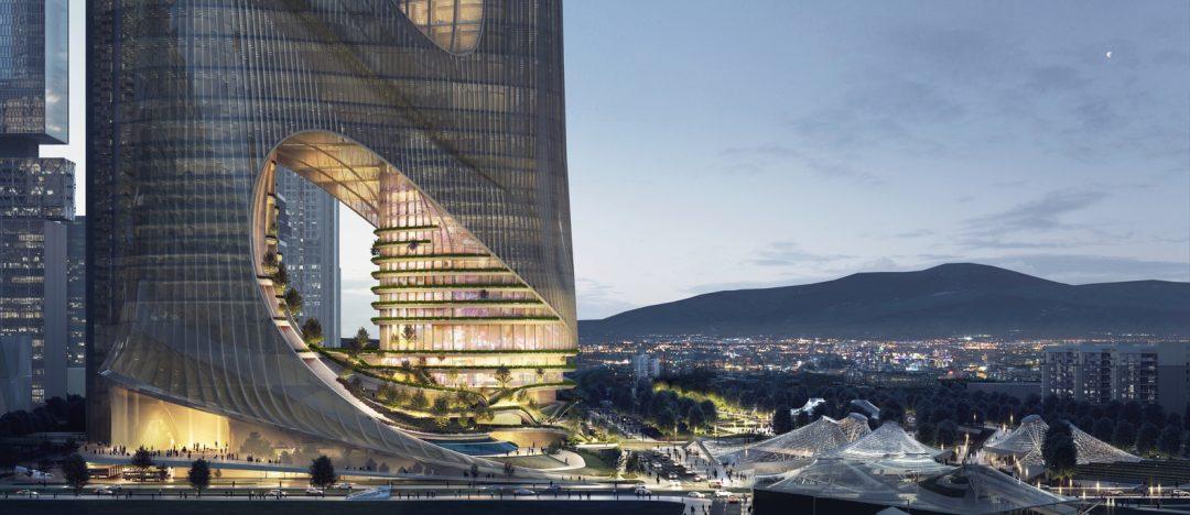 La fantascientifica città verticale di Shenzhen, progettata dallo studio di Zaha Hadid