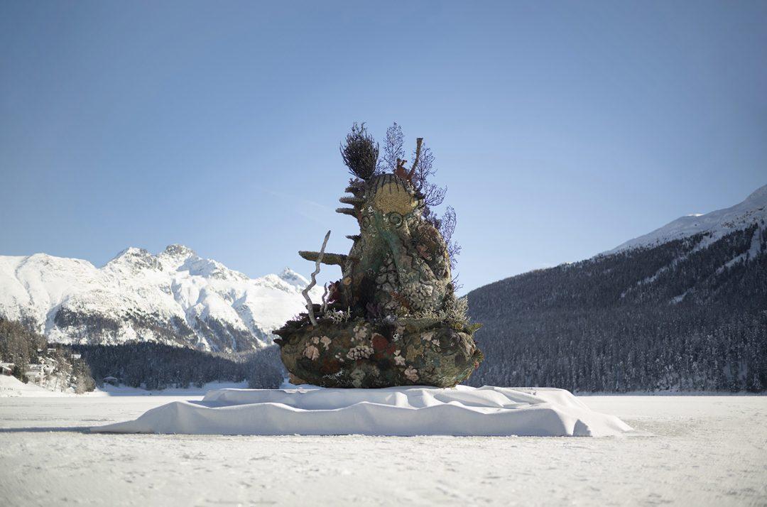 St. Moritz: la mostra diffusa di Damien Hirst