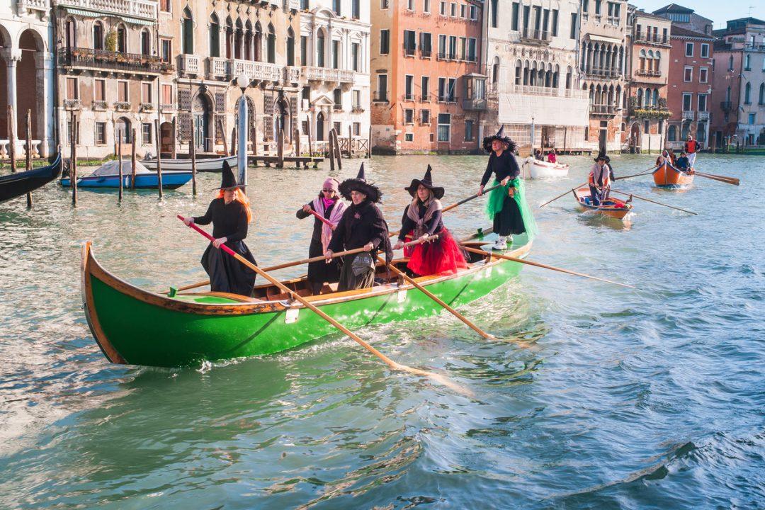 La Regata delle Befane a Venezia