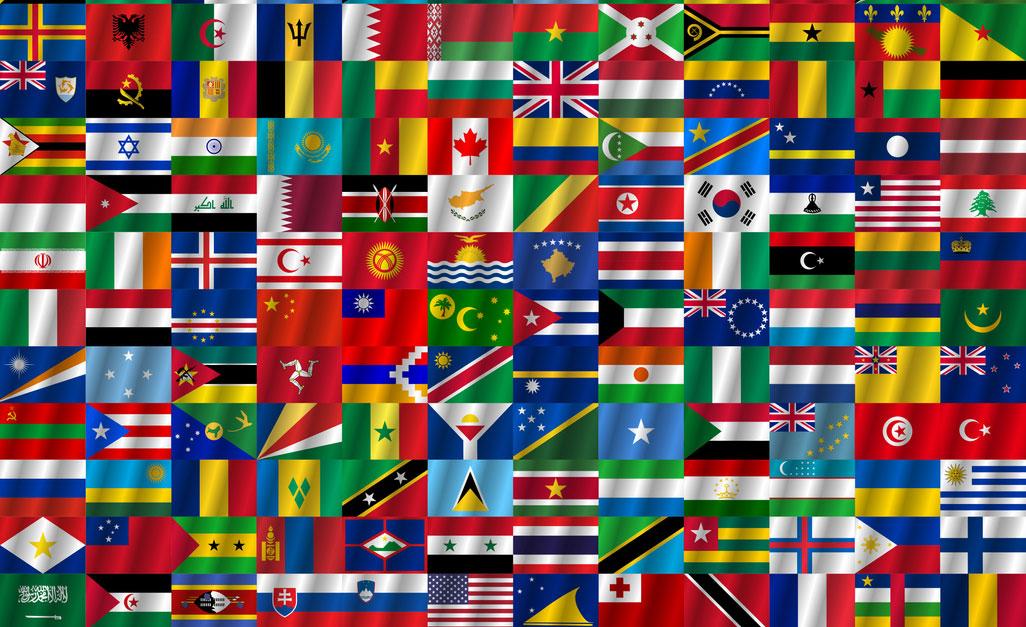 Bandiere del mondo, il quiz. Indovina le più difficili e scopri tante curiosità