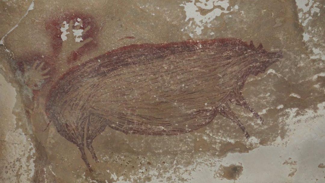 Il cinghiale di Sulawesi di 45.500 anni: è la più antica pittura rupestre dell'umanità