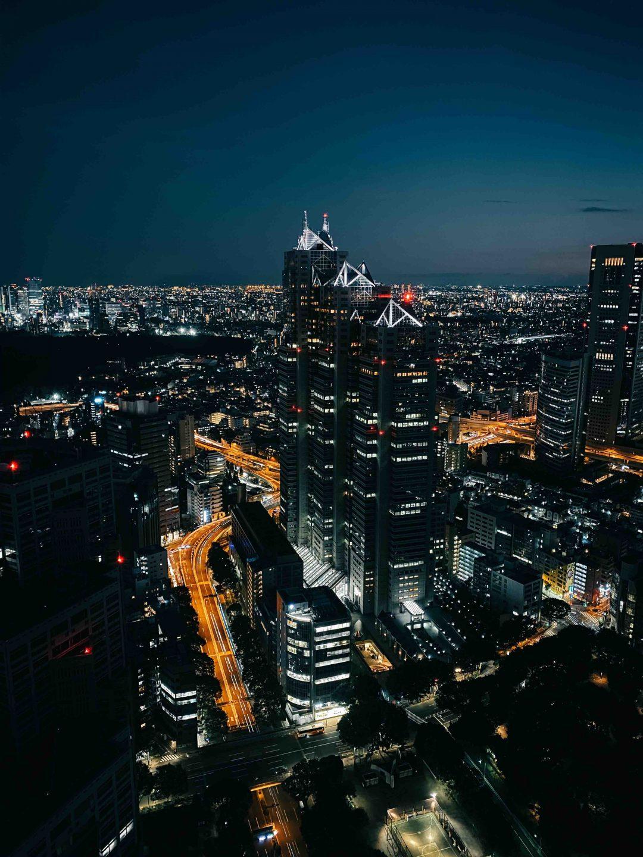 Shinjuku Park Tower, Tokyo - Addio riflesso