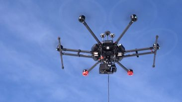 Drone made in Italy per la ricerca di dispersi nelle valanghe
